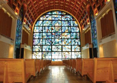 Interiors – Pepperdine University – Stauffer Chapel