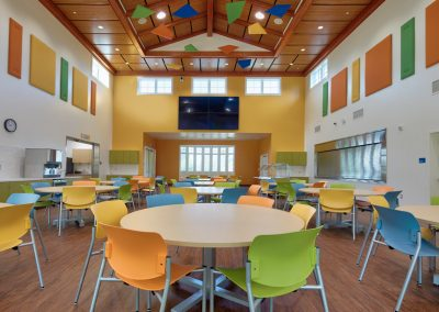 Interiors – Hillsides Organization – Margie + Robert E. Petersen Student Center