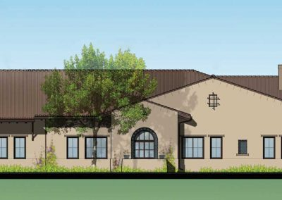 Housing + Hospitality – Continuing Life Communities – Reata Glen Health Center, The Orchards