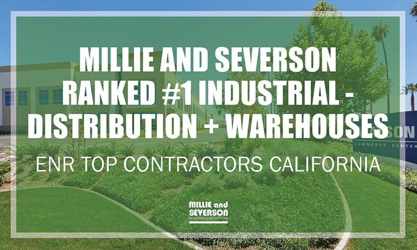 ENR California Ranks Millie and Severson Tops in Multiple Sectors