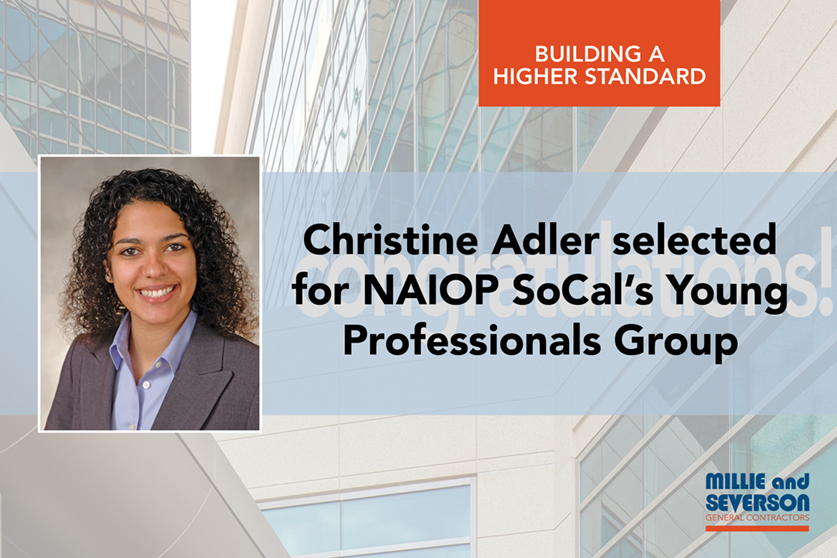 Christine Adler Selected for NAIOP's Young Professionals Group