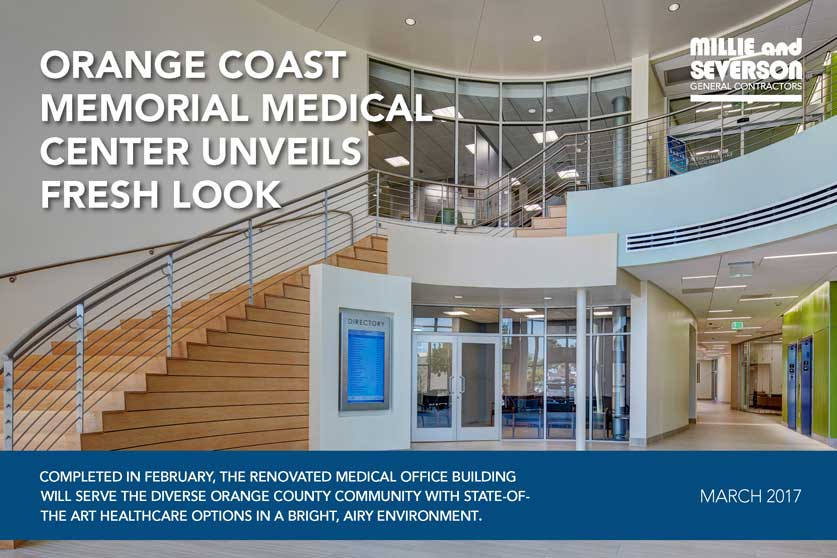 Orange Coast Memorial Medical Center Unveils Fresh Look
