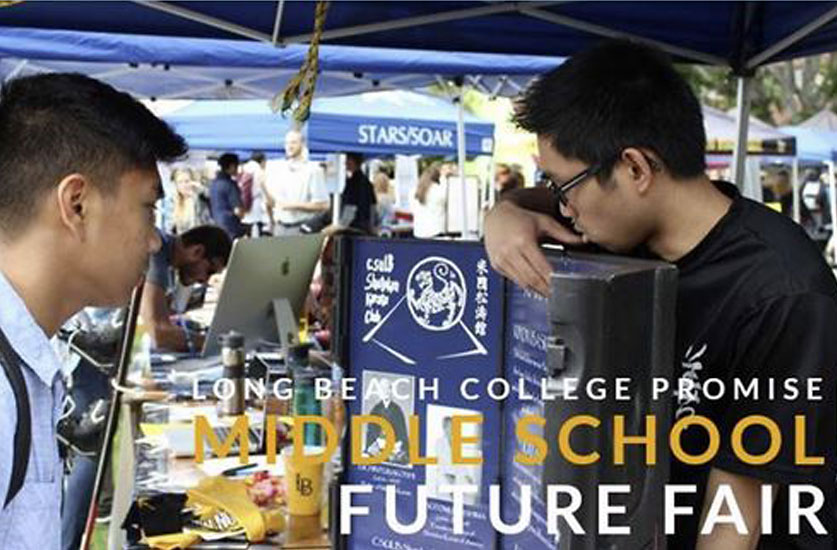 Millie and Severson Participates in Middle School Future Fair hosted by Long Beach Unified School District