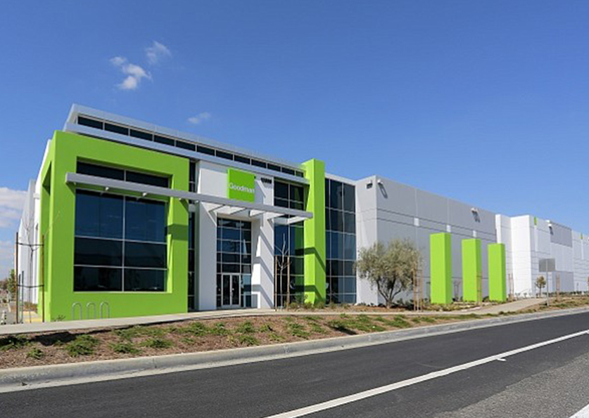 Goodman Logistics Center Fully Leased