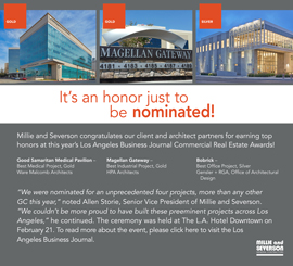 Three Millie and Severson Projects Win Awards