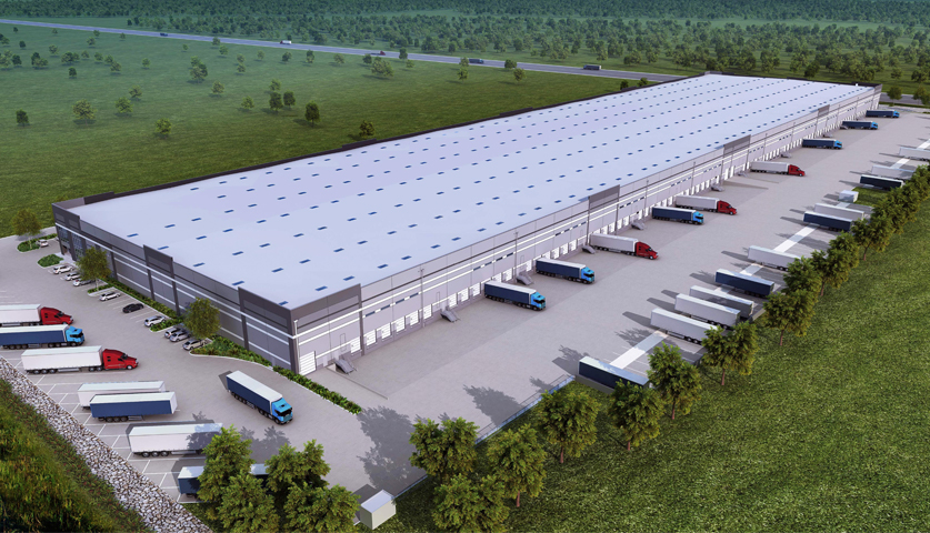 LBA's Tracy Logistics Center is Underway