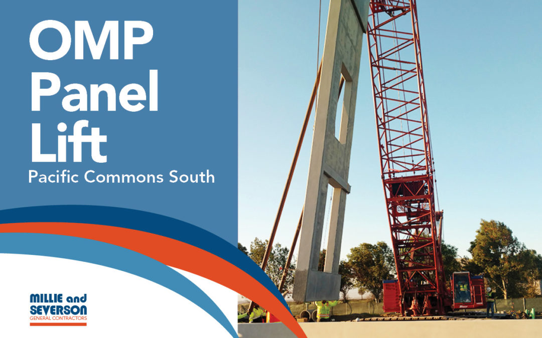 OMP Pacific Commons South Panel Lift
