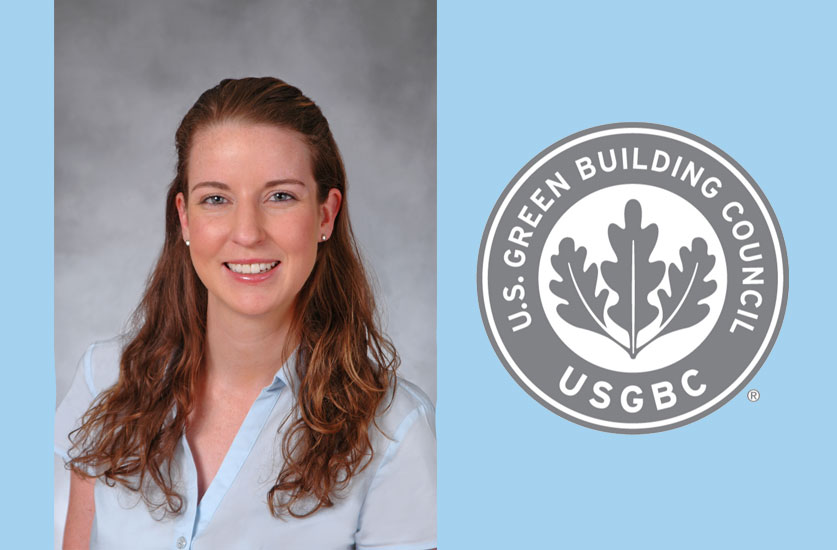 Project Engineer Rebecca Ramsdale Featured in USGBC-LA Newsletter
