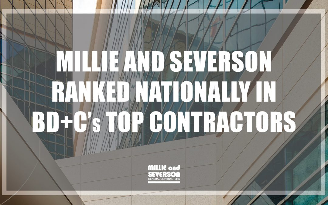 Millie and Severson Ranked Nationally by Building Design + Construction