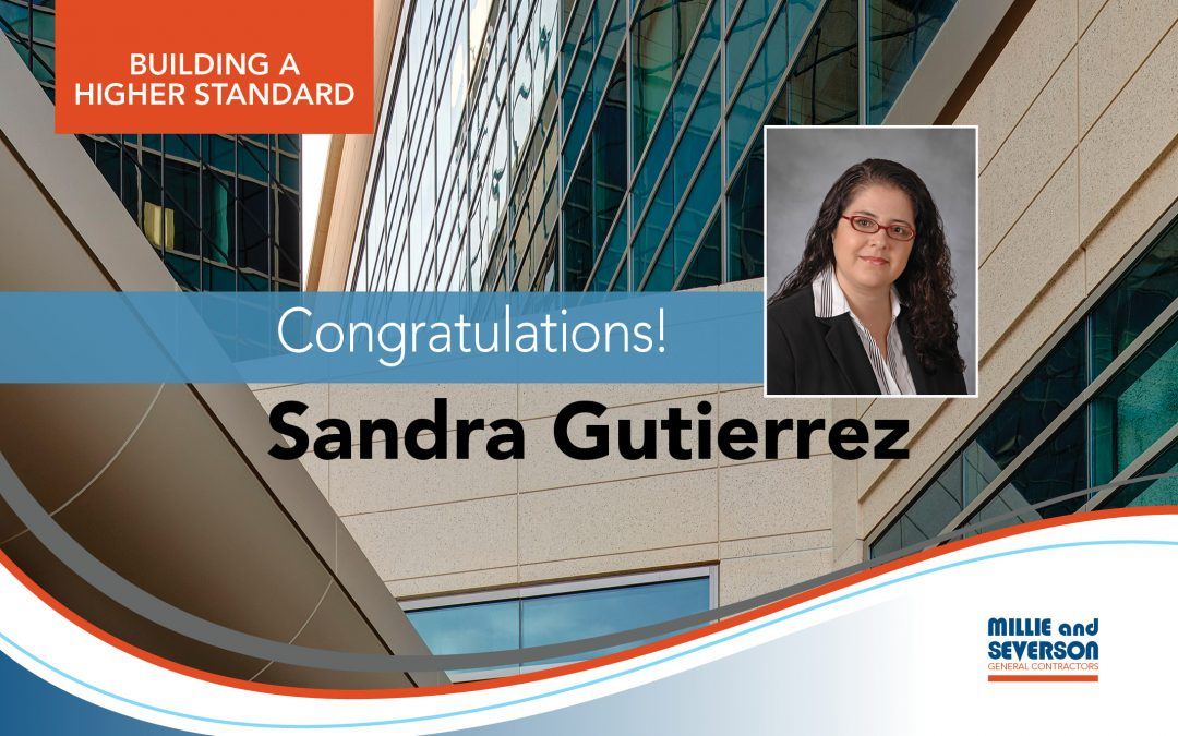 Congratulations, Sandra Gutierrez! An Outstanding Woman in Construction