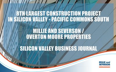 OMP's Pacific Commons South Ranked 8th Largest Construction Project in Silicon Valley