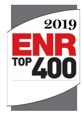 Millie and Severson among ENR's Top 400 Contractors Again. #263 in 2019