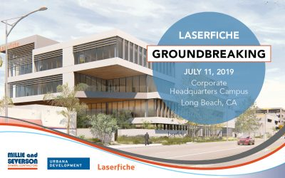 Groundbreaking Ceremony for New Laserfiche Corporate HQ