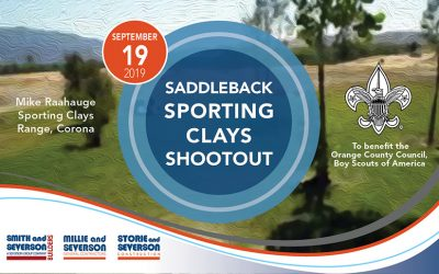 Saddleback Sporting Clays Shootout | September 19, 2019