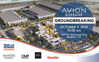OMP's Avion Burbank Breaks Ground
