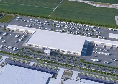 Industrial – Scannell Properties – Chino Parcel Delivery Facility