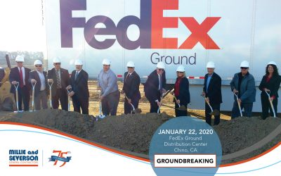 Groundbreaking Held for FedEx Distribution Facility in Chino