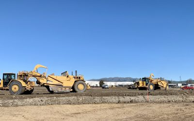 Grading Starts at 880 Industrial Center