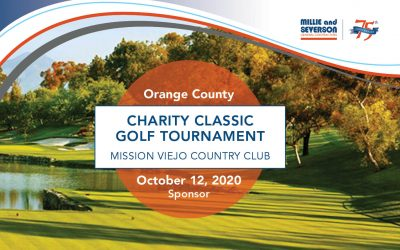 Millie and Severson Supports OC Charity Golf Classic