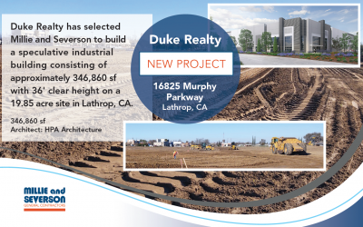 Announcing Another Project for Duke Realty