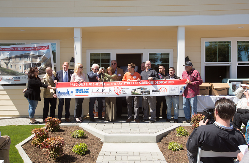 Ribbon Cutting Held for Precious Life Shelter's New Residences