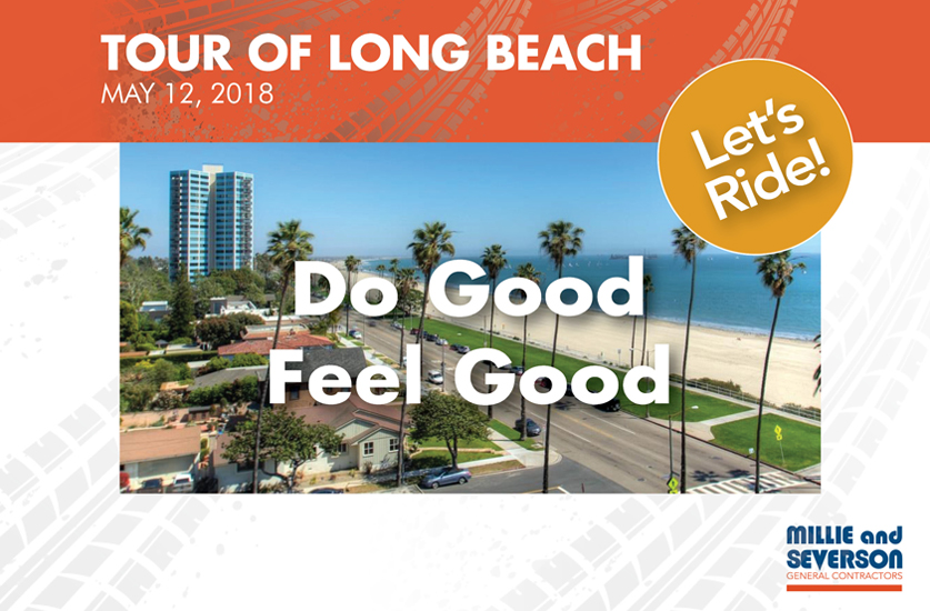 Millie and Severson Employees Riding for a Cause in Tour of Long Beach