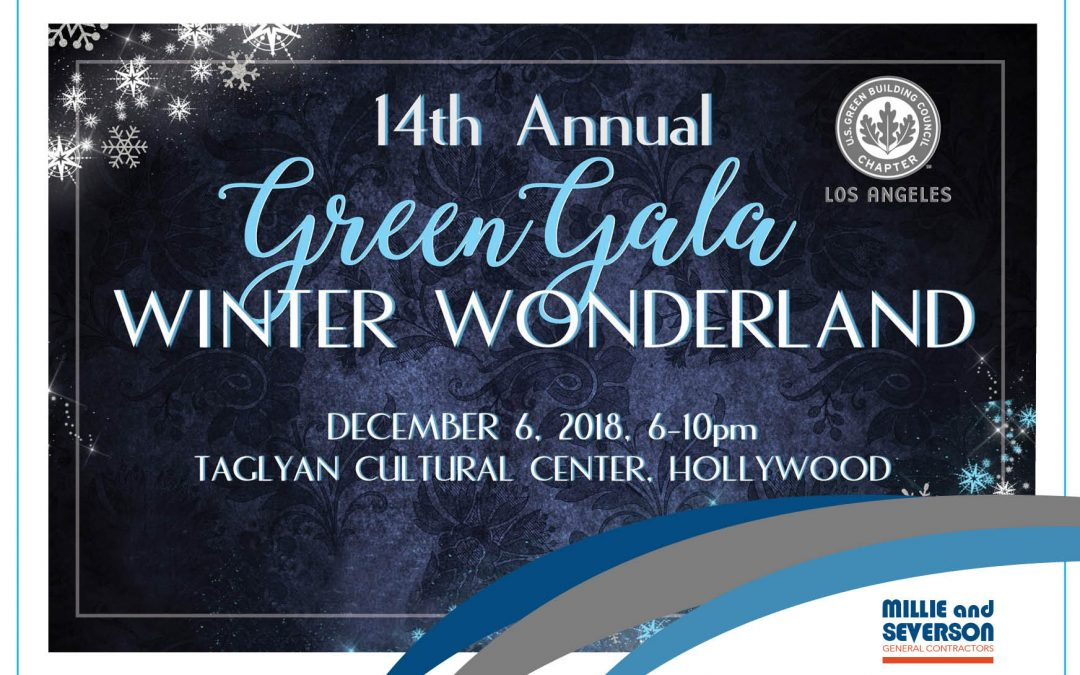Millie and Severson Supports USGBC-LA Green Gala