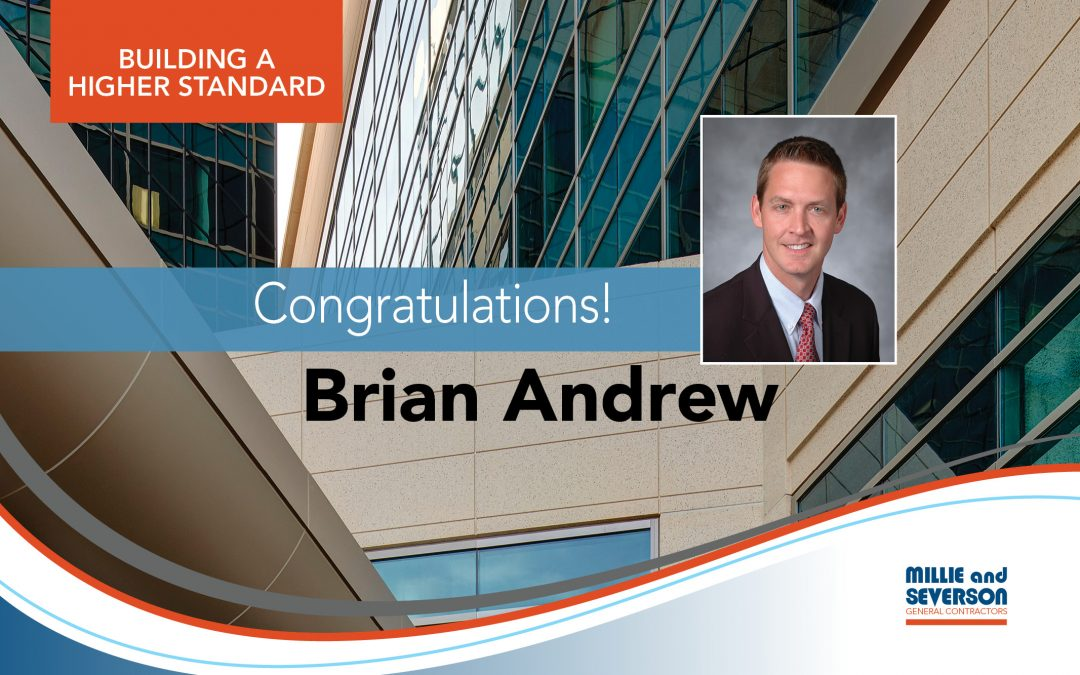 Congratulations, Brian Andrew! An ENR Top Young Professional for 2019