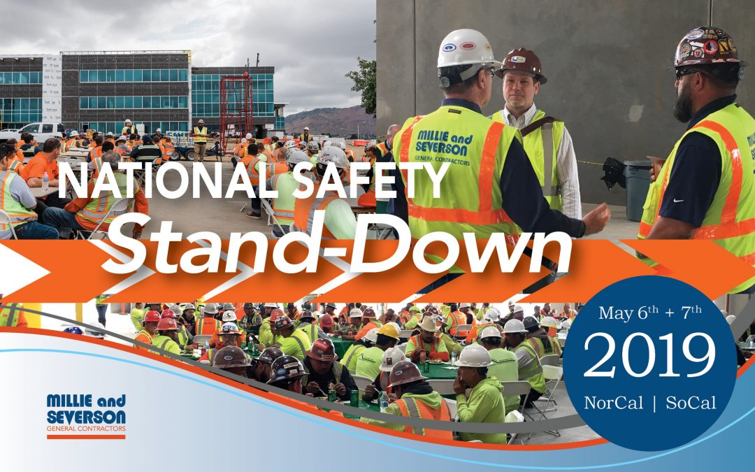 Millie and Severson Stands Down for Safety