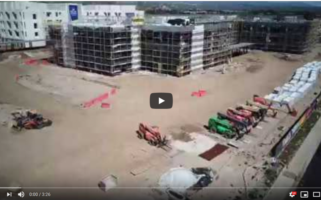 Watch Time Lapse Video of Medical Office Building at RUHS
