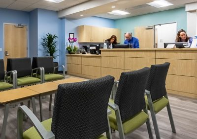 Interiors – Meridian – Medical Office Building