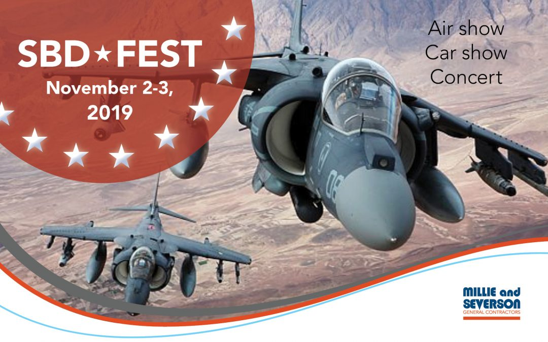 Millie and Severson Sponsors SBD Fest Air Show
