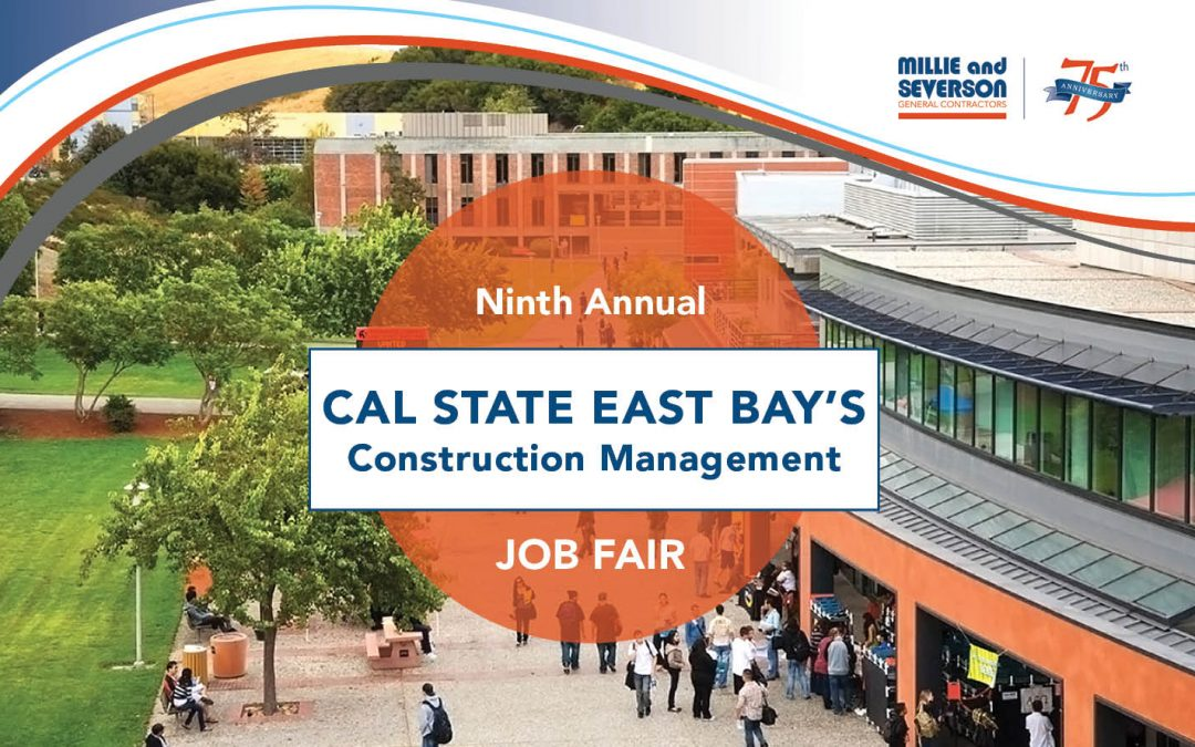 Millie and Severson a Virtual Participant in Cal State East Bay's 9th Annual Construction Management Job Fair