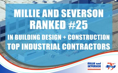 Millie and Severson is a Top Industrial Contractor