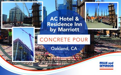AC Hotel & Residence Inn by Marriott in Oakland Concrete Pour