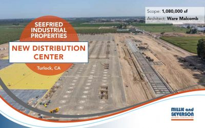 New Distribution Center for Seefried Industrial Properties