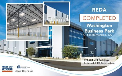 Washington Business Park Just Completed for REDA and Crow Holdings