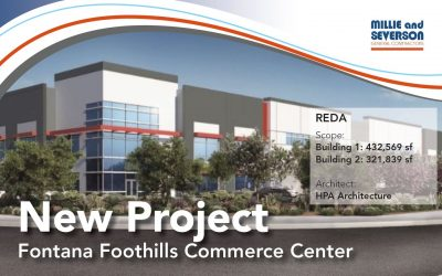 New Project for REDA – Fontana Foothills Commerce Center